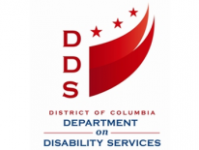 District of Columbia Department on Disability Services with logo