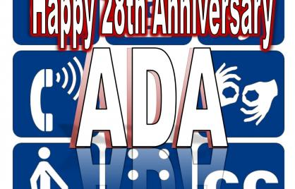Happy 28th Anniversary ADA